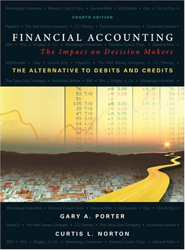 Financial Accounting : The Impact on Decision Makers, the Alternative to Debits and Credits by Ga...