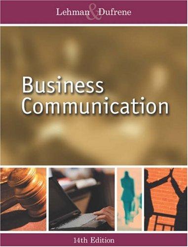 9780324272703: Business Communication