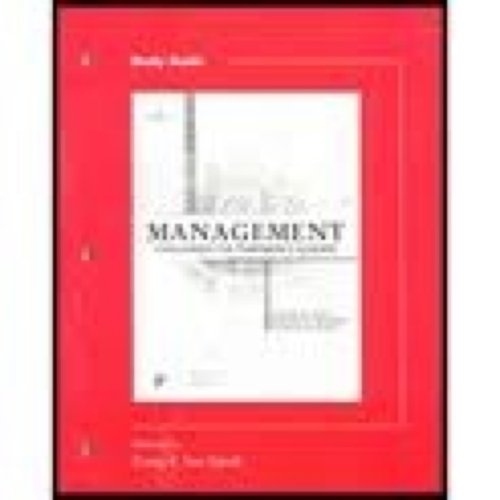 Study Guide to accompany Management: Challenges for: Lewis, Pamela S.;