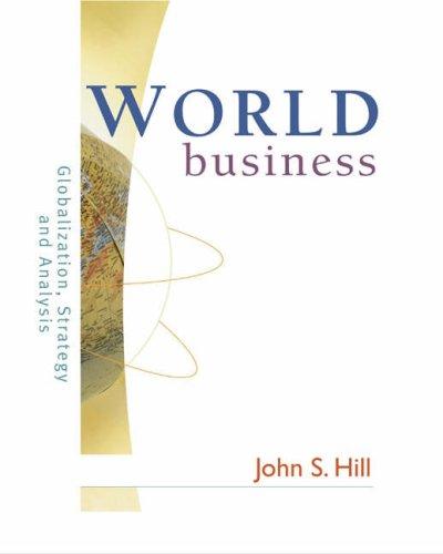 World Business: Hill John S.