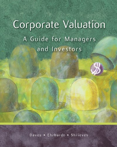 9780324274288: Corporate Valuation: A Guide for Managers and Investors with Thomson ONE