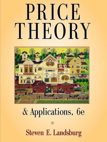 9780324274486: Price Theory and Applications (with Economic Applications)