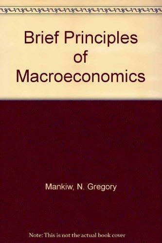 9780324280173: Brief Principles of Macroeconomics
