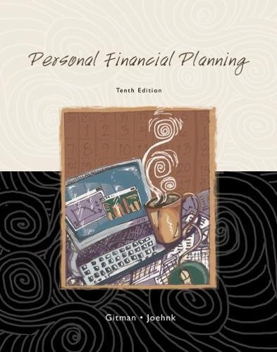 9780324282474: Personal Financial Planning (Available Titles CengageNOW)