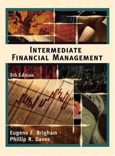 9780324282856: Intermediate Financial Management, 8th Edition