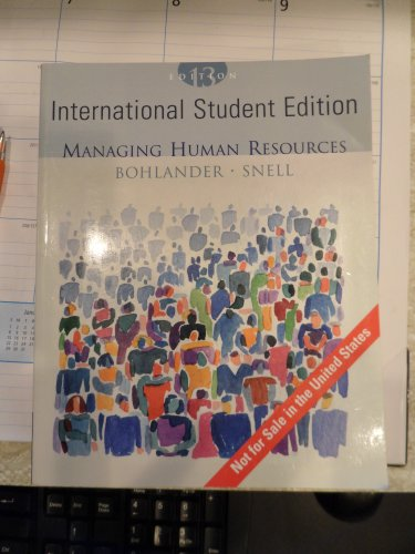 9780324282863: Managing Human Resources