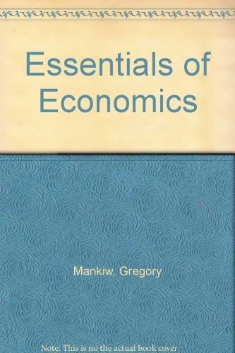 9780324288575: Essentials of Economics