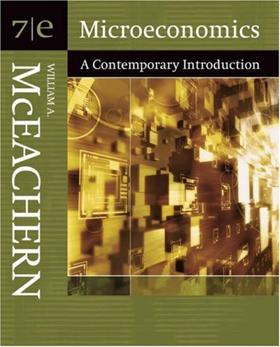 9780324288667: Microeconomics: A Contemporary Introduction (with InfoTrac) (Available Titles CengageNOW)