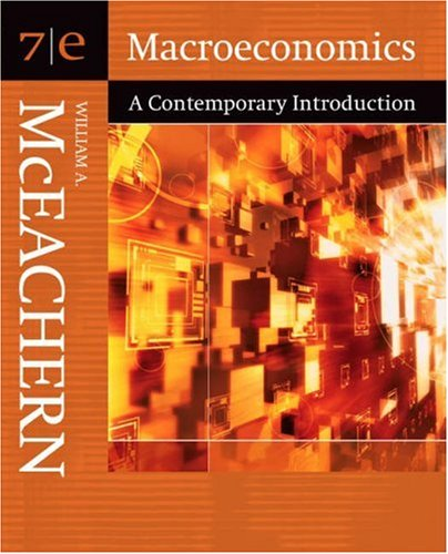 9780324288742: Macroeconomics: A Contemporary Introduction (with InfoTrac) (Available Titles CengageNOW)