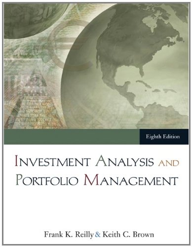 Investment Analysis and Portfolio Management (with Thomson: Reilly, Frank K.;