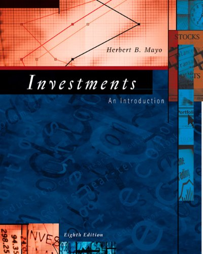 9780324289169: Investments: An Introduction (with Thomson ONE - Business School Edition) (Available Titles CengageNOW)