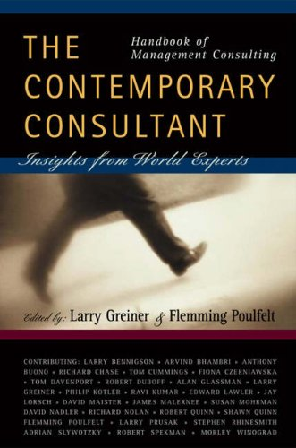 9780324290417: Handbook of Management Consulting: The Contemporary Consultant, Insights from World Experts
