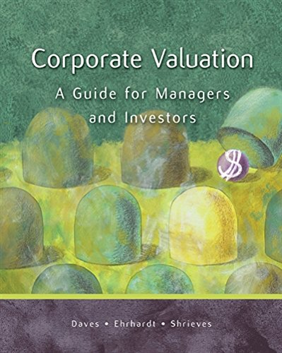 9780324290738: Corporate Valuation: A Guide for Managers and Investors