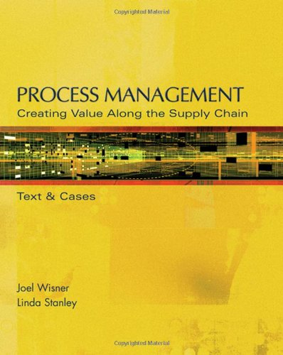 9780324291575: Process Management: Creating Value Along the Supply Chain (with CD-ROM and InfoTrac)