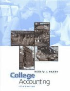 9780324297225: College Accounting: Chapters 1-10