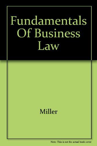 9780324297973: Fundamentals of Business Law
