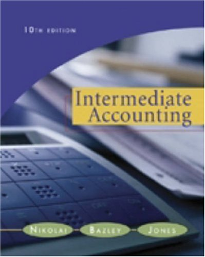 9780324300987: Intermediate Accounting 10th Edition(with Business and Company Resource Center)