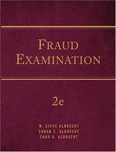 9780324301601: Fraud Examination (Available Titles CengageNOW)