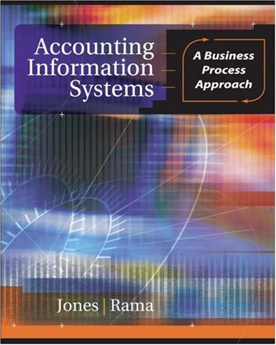 9780324301618: Accounting Information Systems: A Business Process Approach