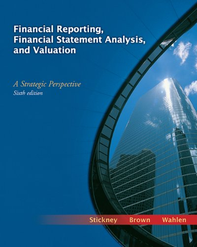 9780324302950: Financial Reporting, Financial Statement Analysis, and Valuation: A Strategic Perspective (with Thomson One Access Code)