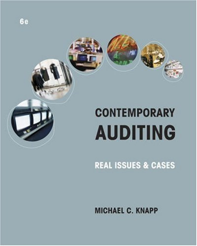 9780324303254: Contemporary Auditing: Real Issues and Cases