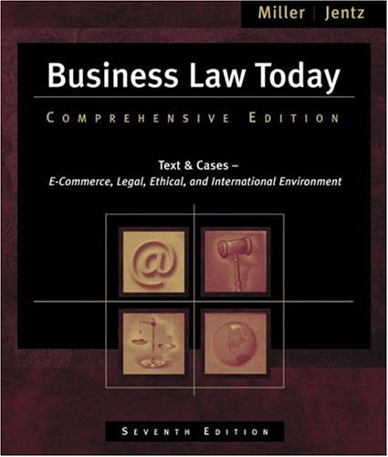 9780324303926: Business Law Today: Comprehensive (with Online Legal Research Guide)