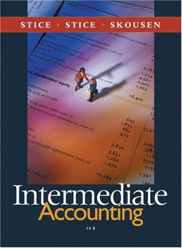 9780324304145: Intermediate Accounting (with Thomson Analytics)