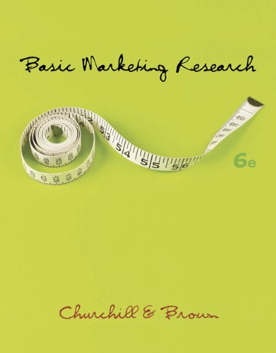 9780324305418: Basic Marketing Research
