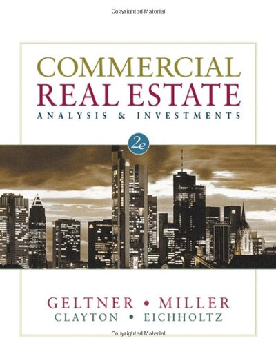 9780324305487: Commercial Real Estate Analysis and Investments