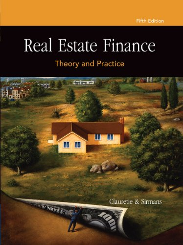 9780324305500: Real Estate Finance: Theory and Practice