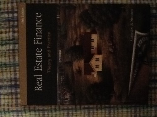 9780324305517: Real Estate Finance Theory and Practice