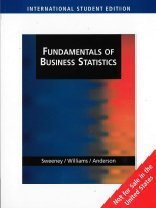 9780324305913: Fundamentals of Business Statistics, International Edition (with CD-ROM and InfoTrac): 0 (International Student Edition)
