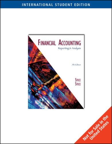 9780324305937: Financial Accounting, Reporting and Analysis
