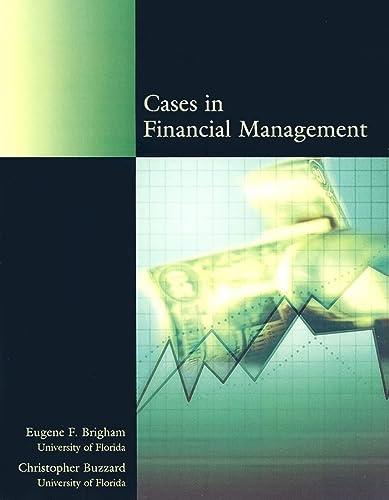 9780324307252: Cases in Financial Management: Brigham Buzzard Casebook