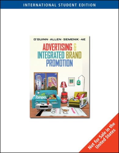 9780324311327: Advertising and Integrated Brand Promotion: With Infotrac