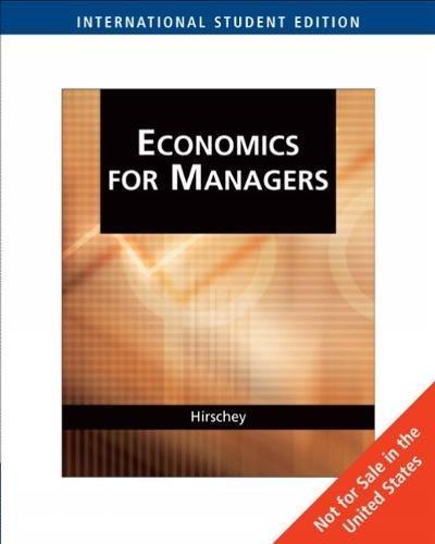 9780324311563: Managerial Economics