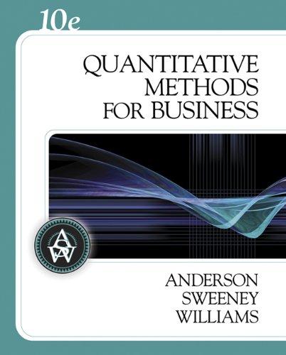 9780324312652: Quantitative Methods for Business Plus Student CD