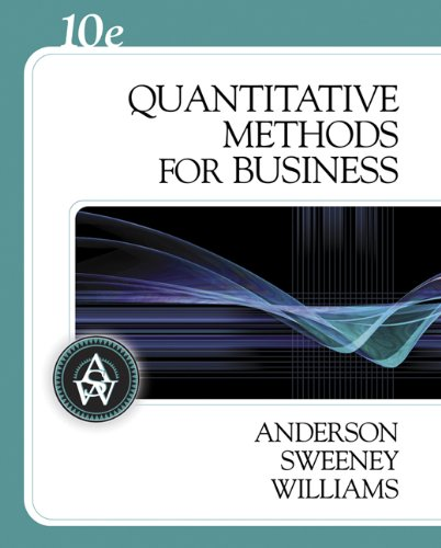 9780324312652: Quantitative Methods for Business (with Crystal Ball Pro 2000 v7.1, CD-ROM, and InfoTrac) (Available Titles CengageNOW)