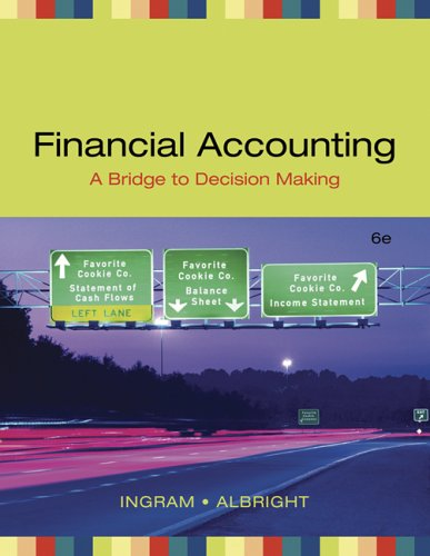 9780324313352: Financial Accounting: A Bridge to Decision Making