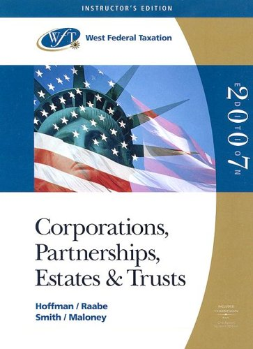 9780324313765: Corporations, Partnerships, Estates and Trusts: Teacher's Edition