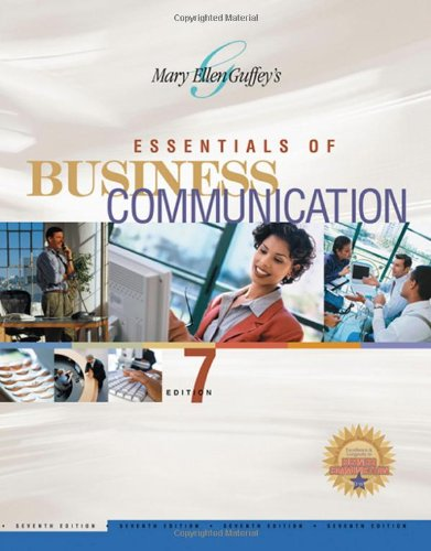 9780324313925: Essentials of Business Communication (Available Titles CengageNOW)