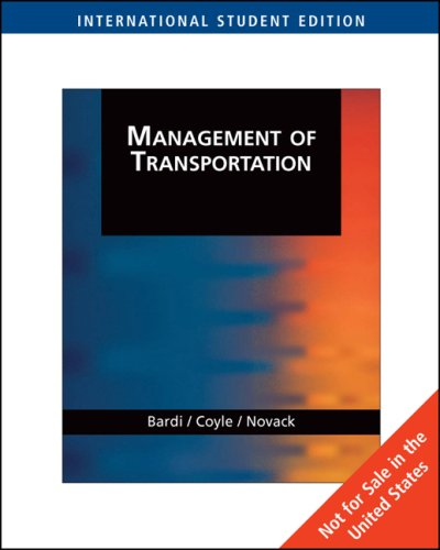 9780324314434: Management of Transportation