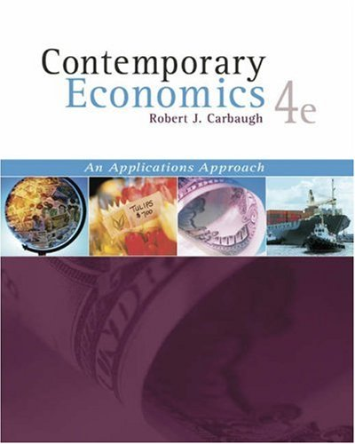 9780324314625: Contemporary Economics (with Economics Applications and InfoTrac )