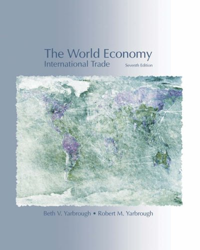 9780324315417: The World Economy: Trade and Finance