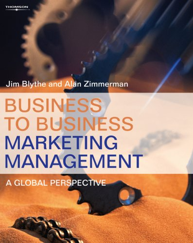 9780324315448: Business to Business Marketing