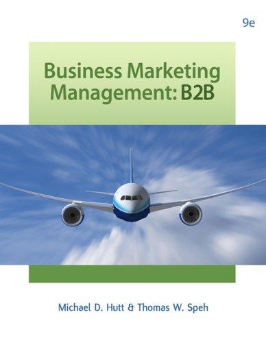 9780324316858: Business Marketing Management: B2B