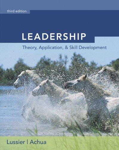 9780324316971: Leadership (with InfoTrac)