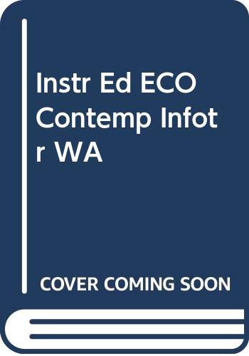 9780324317381: Instr Ed ECO Contemp Infotr WA