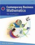 Contemporary Business Mathematics for Colleges: James E. Deitz; James L. Southam