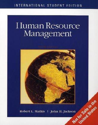 Robert mathis abebooks human resource management robert l mathis fandeluxe Gallery